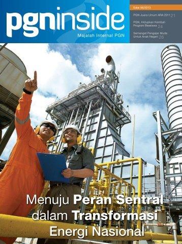 Menuju Peran Sentral dalam Transformasi Energi Nasional - PGN