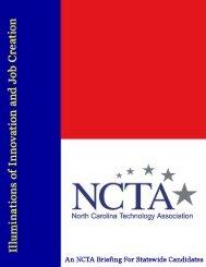 Education - North Carolina Technology Association
