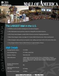 Mall of America Advertising - CBS Outdoor
