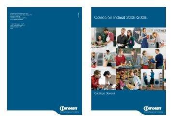 Colección Indesit 2008-2009.