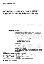 PROCEDIMENTOS DA UNIDADE DE TERAPIA INTENSIVA DO ...