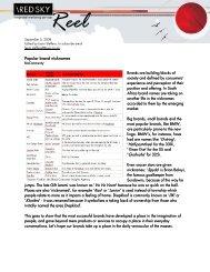 Red Sky Reel Blog - 5 September 2008
