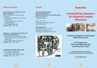 SenioAss – körperlich kranke Menschen - Sozial-Betriebe-Köln