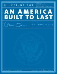 Blueprint for an America Built to Last - The White House