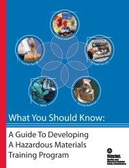 a Guide in Developing Hazmat Training - Hydro-Test Products, Inc