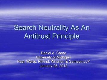 Daniel Crane - George Mason Law Review