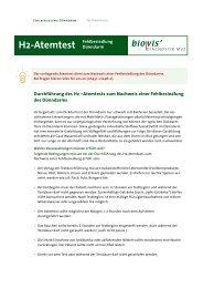 H2-Atemtest - biovis´ Diagnostik MVZ GmbH
