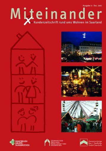 Mi(e)teinander (Ausgabe 11 - Dezember 2007) - GBS Saarlouis