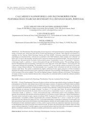 calcareous nannofossils and palynomorphs from ... - ResearchGate