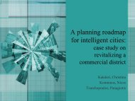 A planning roadmap for intelligent cities: case study on ... - Urenio