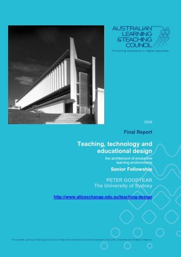 Teaching, technology and educational design - Office for Learning ...
