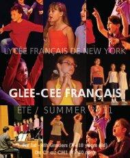 GLEE-CEE FRANÇAIS - Lycée Français de New York