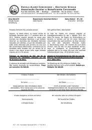 Atividades Opcionais 2012 (pdf) - Escola Alemã Corcovado