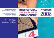 INTERNATIONAL SWIMMING CHAMPIONSHIP