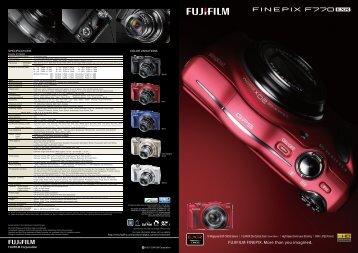 FUJIFILM FINEPIX F770EXR - LetsGoDigital