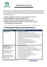 Application Documents Requirements - Wellspring Learning ...
