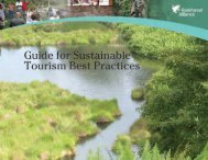 Guide for Sustainable Tourism Best Practices - Rainforest Alliance