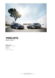 Last ned. Gyldig prisliste for BMW 5-serie Touring.