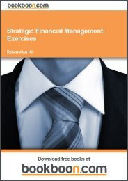 Strategic Financial Management: Exercises - PlacetWorld.com