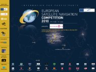 The European Satellite Navigation Competition 2010