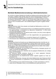 Merkblatt Medikamentenverwaltung in Behindertenheimen - Amt für ...