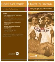 Quest For Freedom Quest For Freedom - Lancaster County
