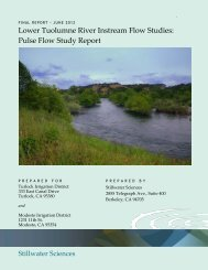 2012 Pulse Flow Study - Tuolumne River TAC Website