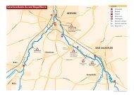 Gewässerkarte Aa und Bega/Werre - Indian Summer Kanutouren