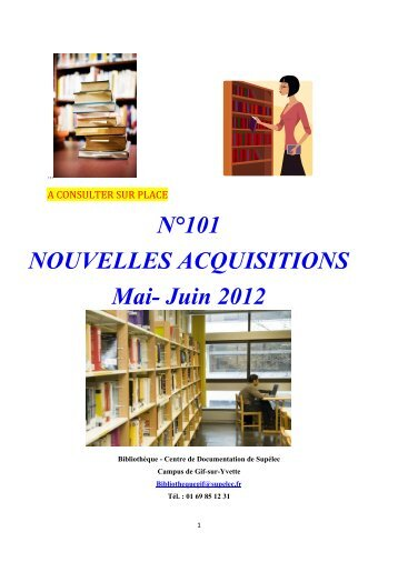 N°101 NOUVELLES ACQUISITIONS Mai- Juin 2012 - All in web