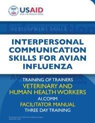 interpersonal communication skills for avian influenza - Avian and ...