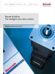 Rexroth EcoDrive The intelligent servo drive solution - Bosch Rexroth