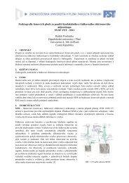 Zobrazit článek ve formátu PDF - Západočeská univerzita v Plzni