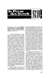 Notes de lecture - Politique Africaine