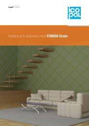 Isolera och dränera med FONDA Drain - Noxite