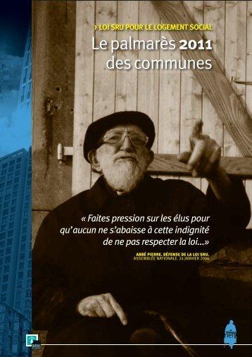 Lepalmarès 2011 descommunes - Habiter-mpm.info