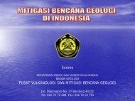 Strategi Mitigasi (Pak Surono).pdf - Pusat Sumber Daya Geologi ...