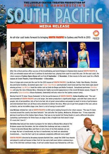 MEDIA RELEASE - Opera Australia