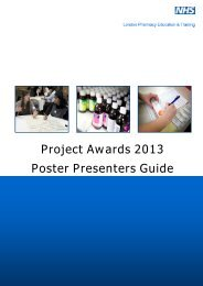 LPE&T Poster Display Guide 2013