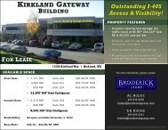 kirkland gateway building for lease