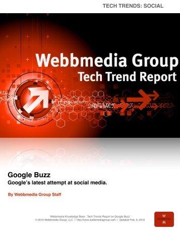 Google Buzz - Webbmedia Group