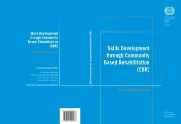 Skills Development through Community Based Rehabilitation (CBR)