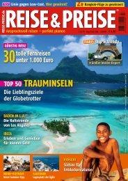 TOP 50 TRAUMINSELN - Reise-Preise.de
