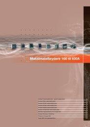 5 Maksimalafbrydere 100 til 630A - Schneider Electric