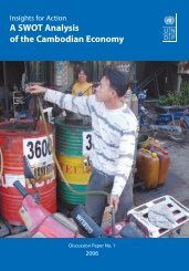 A SWOT Analysis of the Cambodian Economy - United Nations in ...