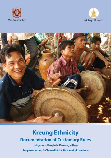 Kreung Ethnicity - United Nations in Cambodia