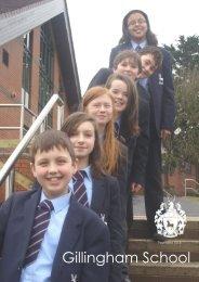 School Prospectus - Gillingham School