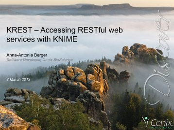 KREST – Accessing RESTful web services with KNIME