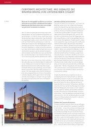 corporate architecture - Architekturjournal wettbewerbe