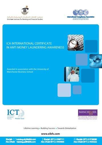 ica international certificate in anti money laundering awareness