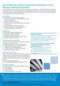 ica international certificate in anti money laundering awareness - Page 2